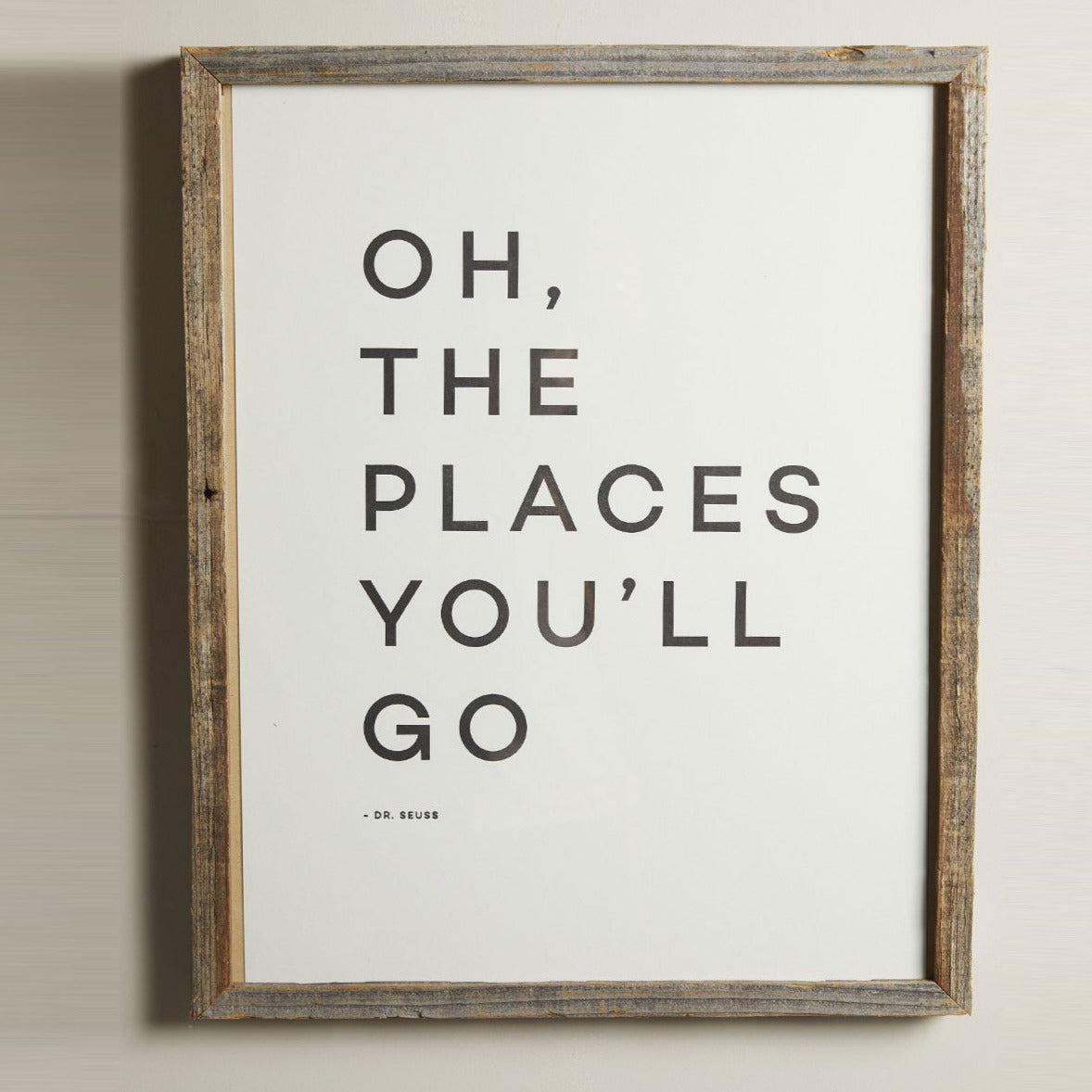 Oh The Places You'll Go Print- Picnic SF