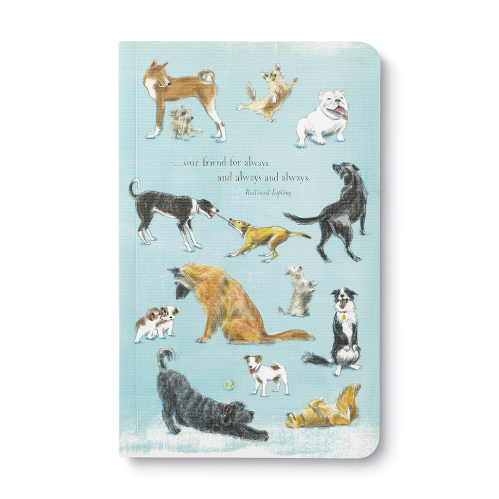 Our friend for always and always and always- Rudyard Kipling Softcover Notebook-Picnic-sf