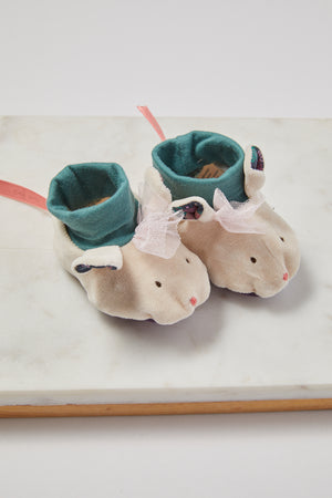 Mouse Baby Slipper - picnic-sf