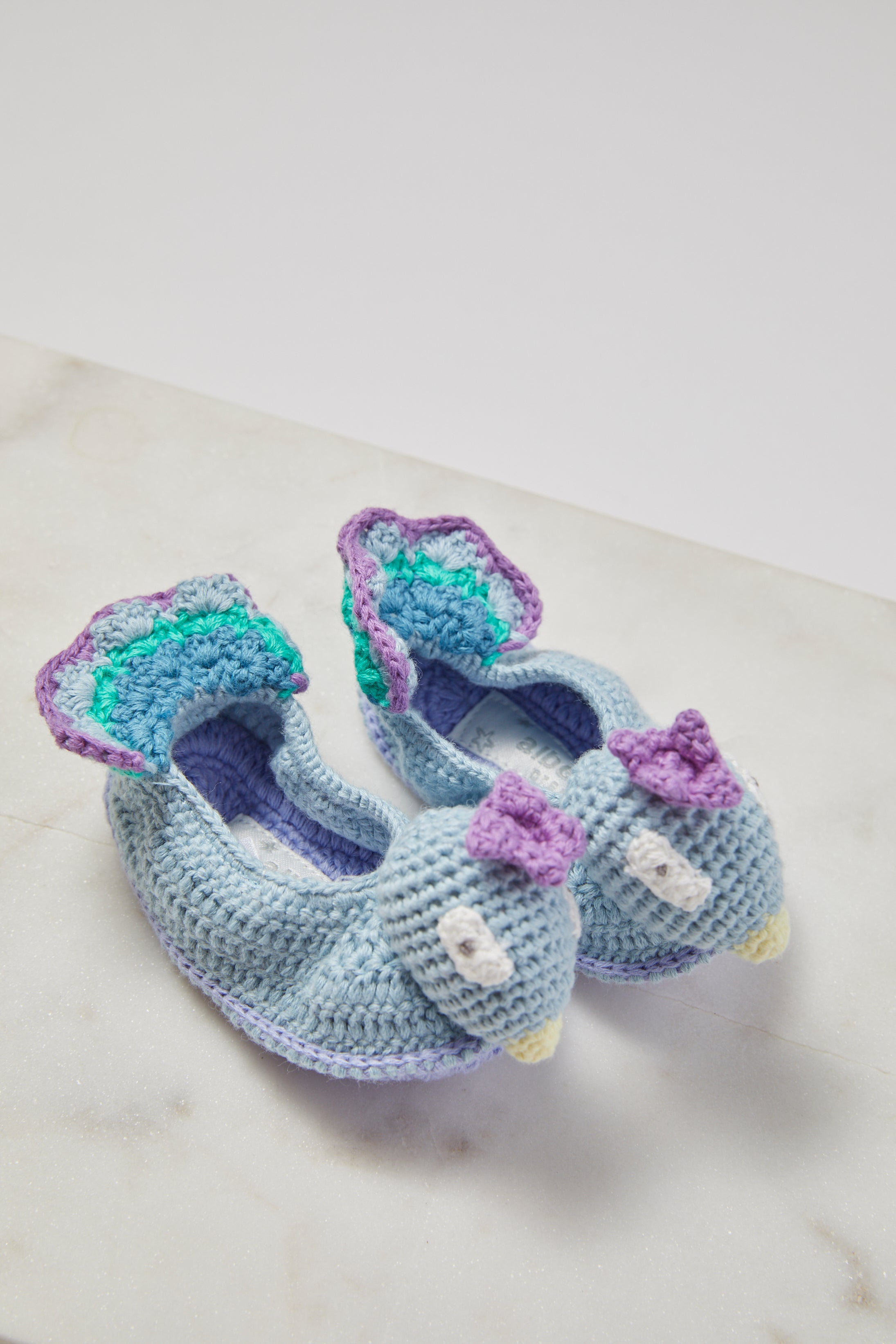 Crochet Peacock Booties - picnic-sf