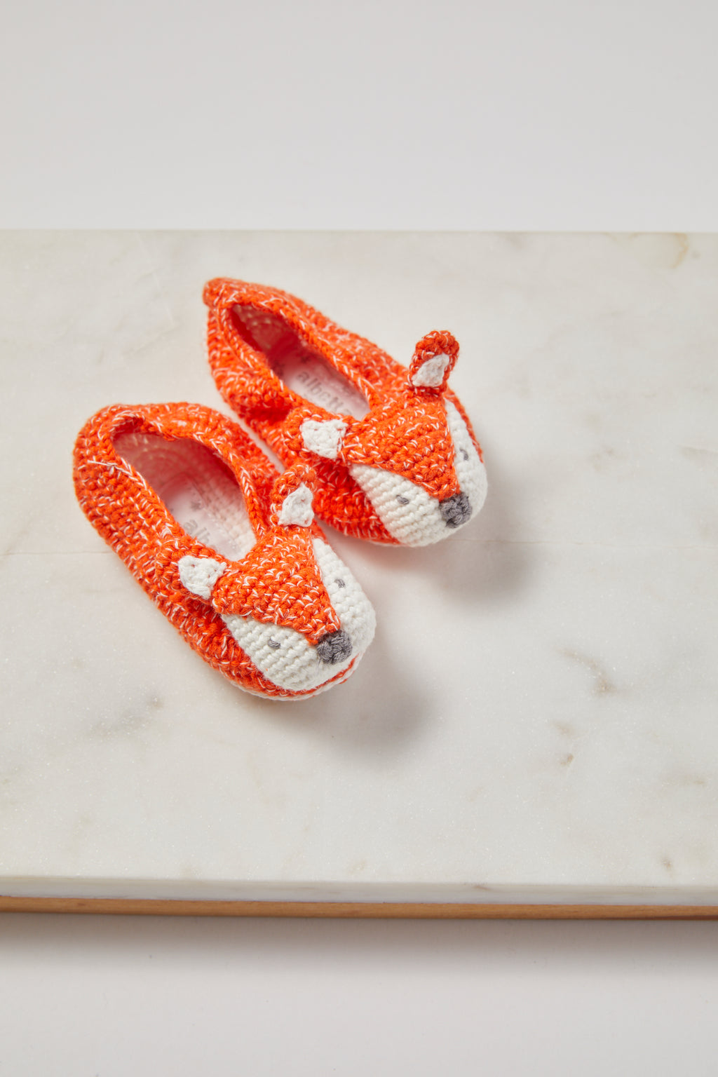 Crochet Fox Booties - P I C N I C