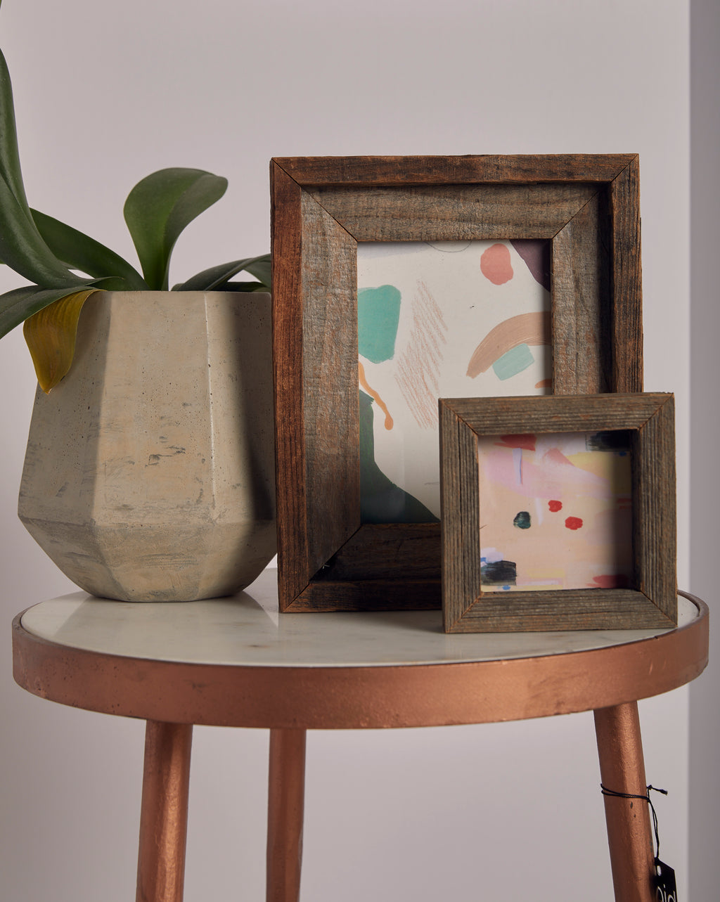 Reclaimed Wood Double Frame - picnic-sf