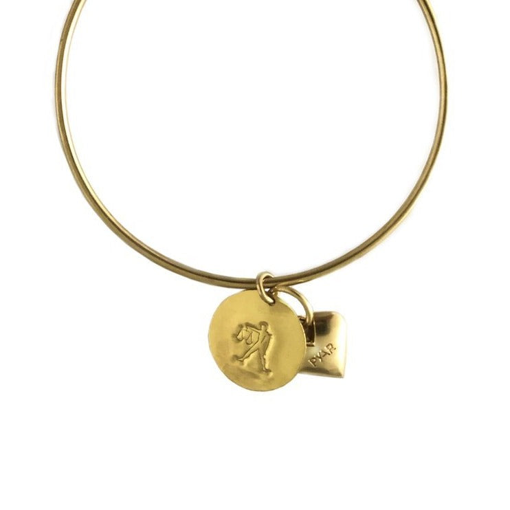 Libra Heart Bangle - picnic-sf