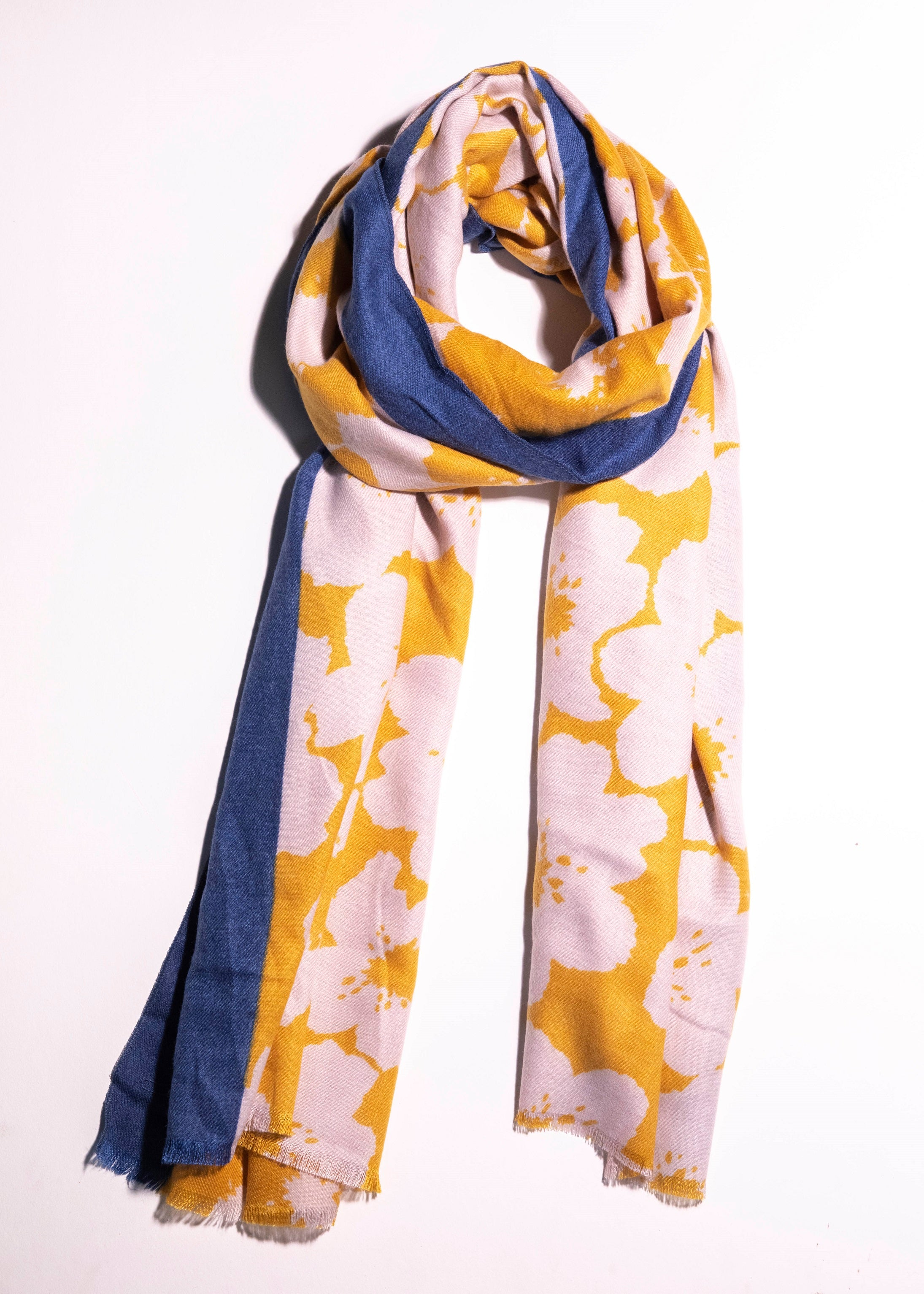 Two Tone Cherry Blossom Scarf - picnic-sf