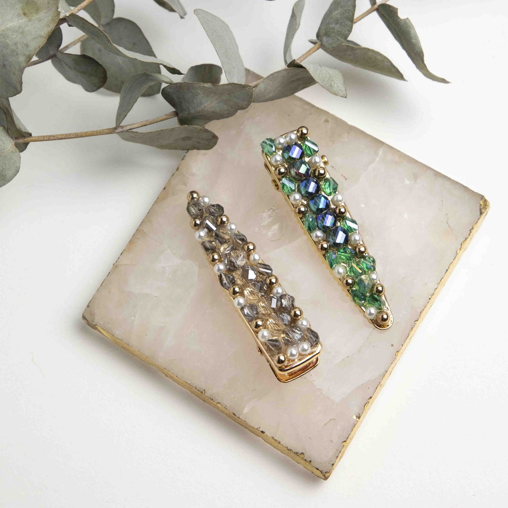 Sabine Bejeweled Hair Barrette