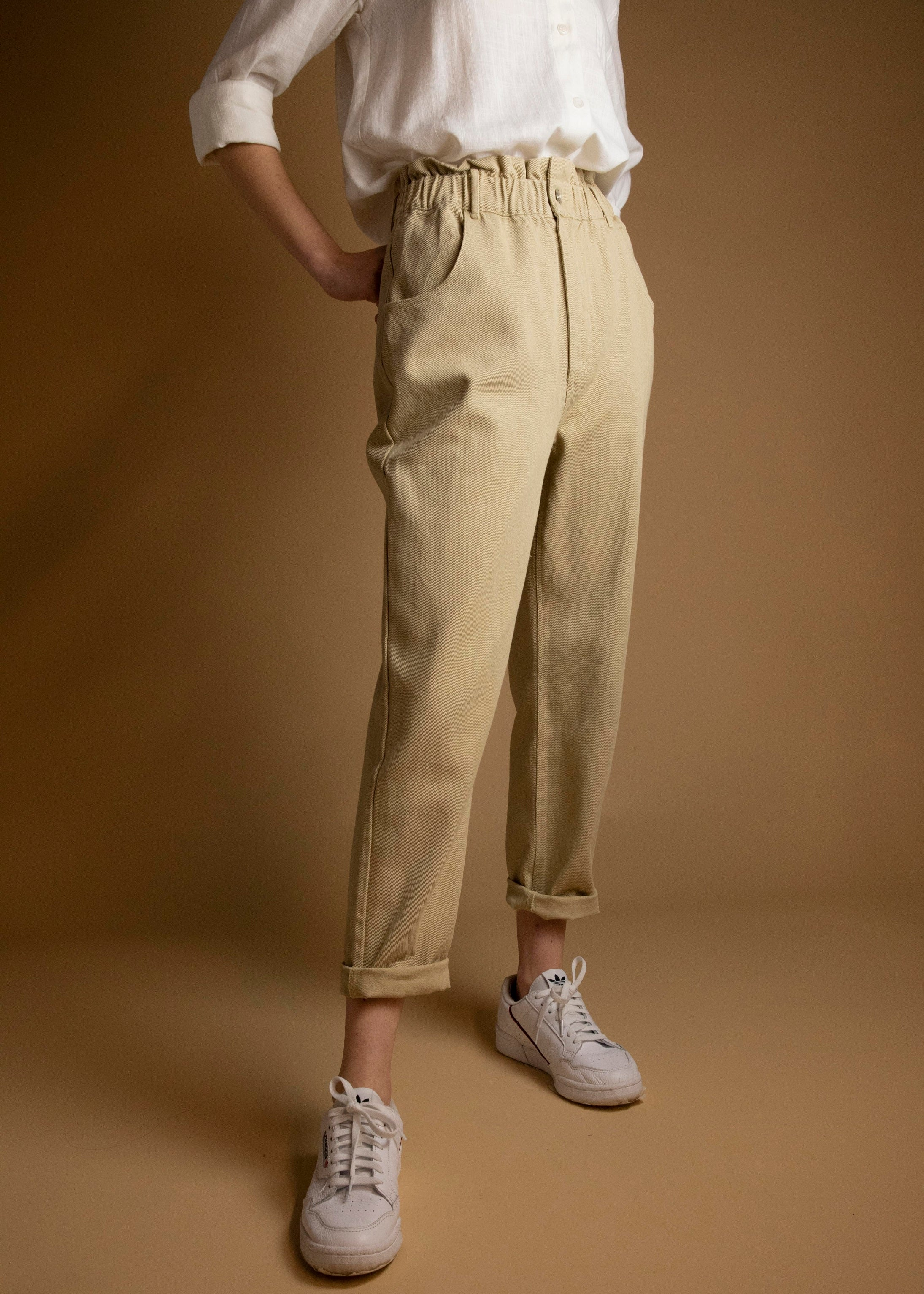 Khaki Lloyd Denim Pant-Picnic-sf