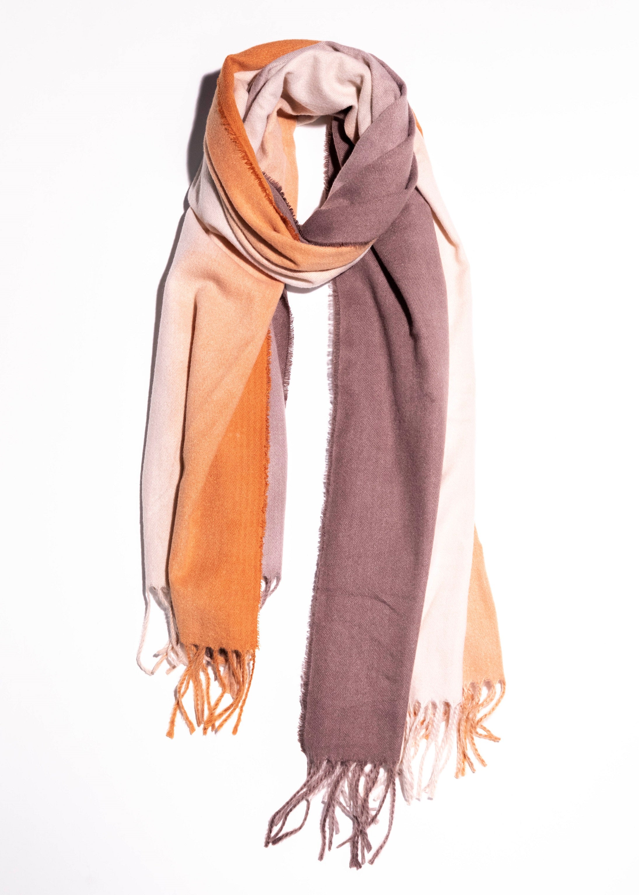 Tie-Dyed Fringe scarf - picnic-sf