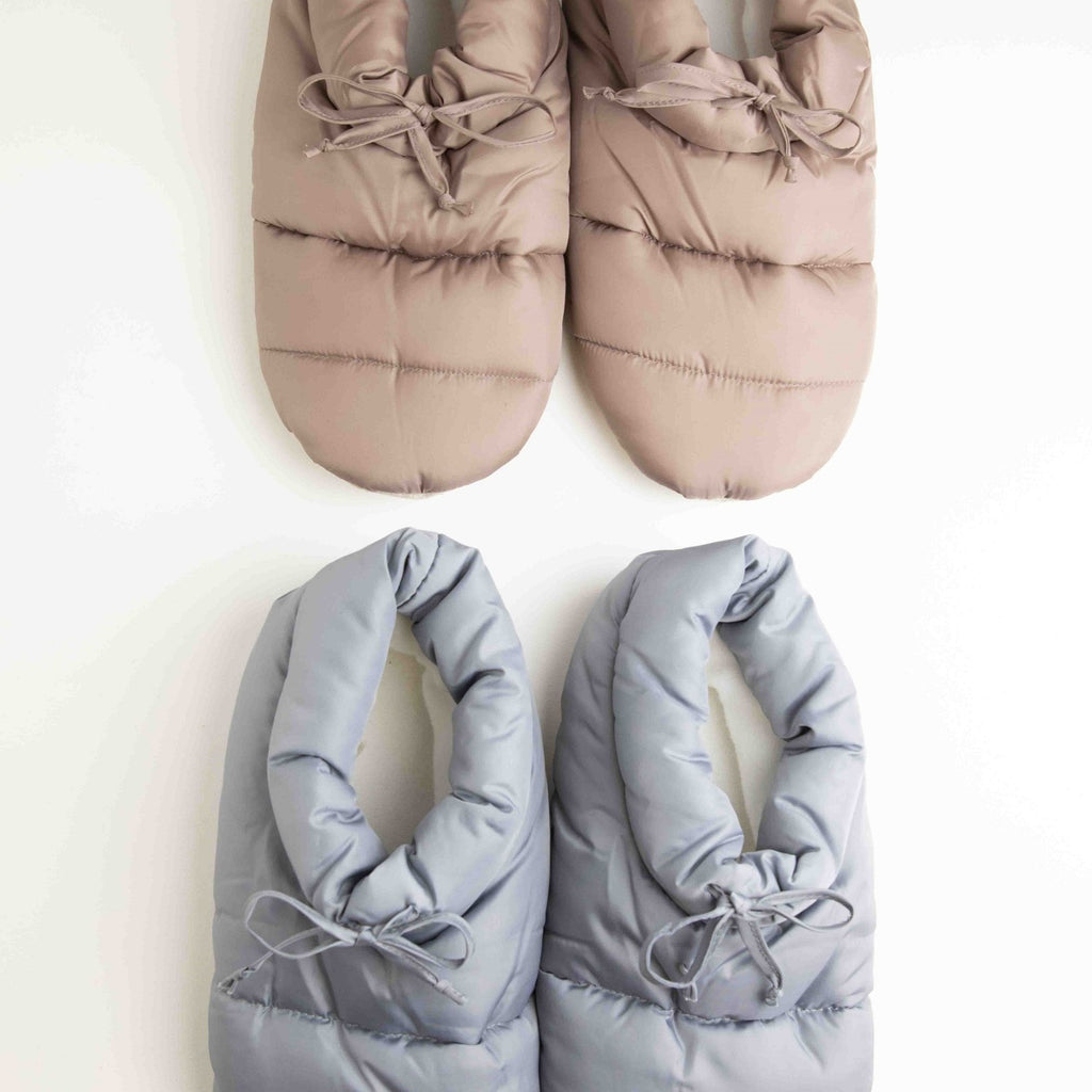 Puffer Slippers-Picnic-sf