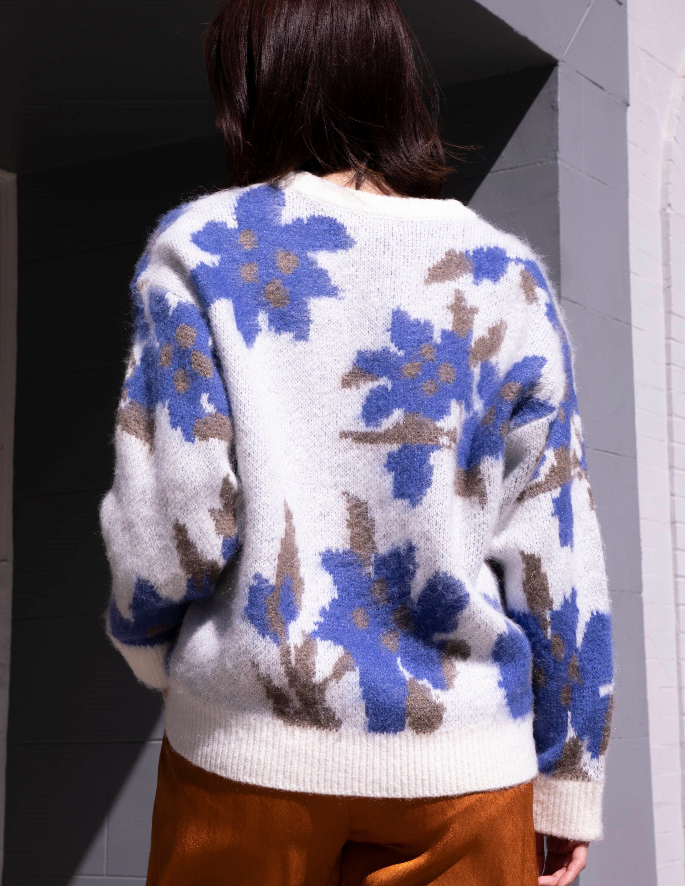 Nore Floral Sweater - picnic-sf