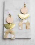 Nude Ingrid Earrings - picnic-sf