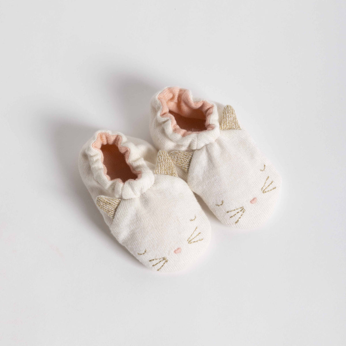Cat Baby Booties - Picnic SF