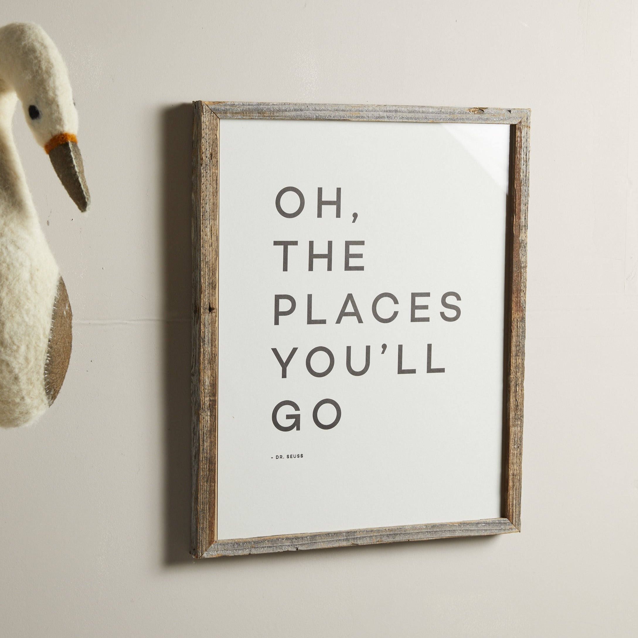 Places You'll Go Travel Quote Print - picnic-sf