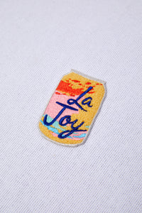 La Joy Chenille Patch - picnic-sf