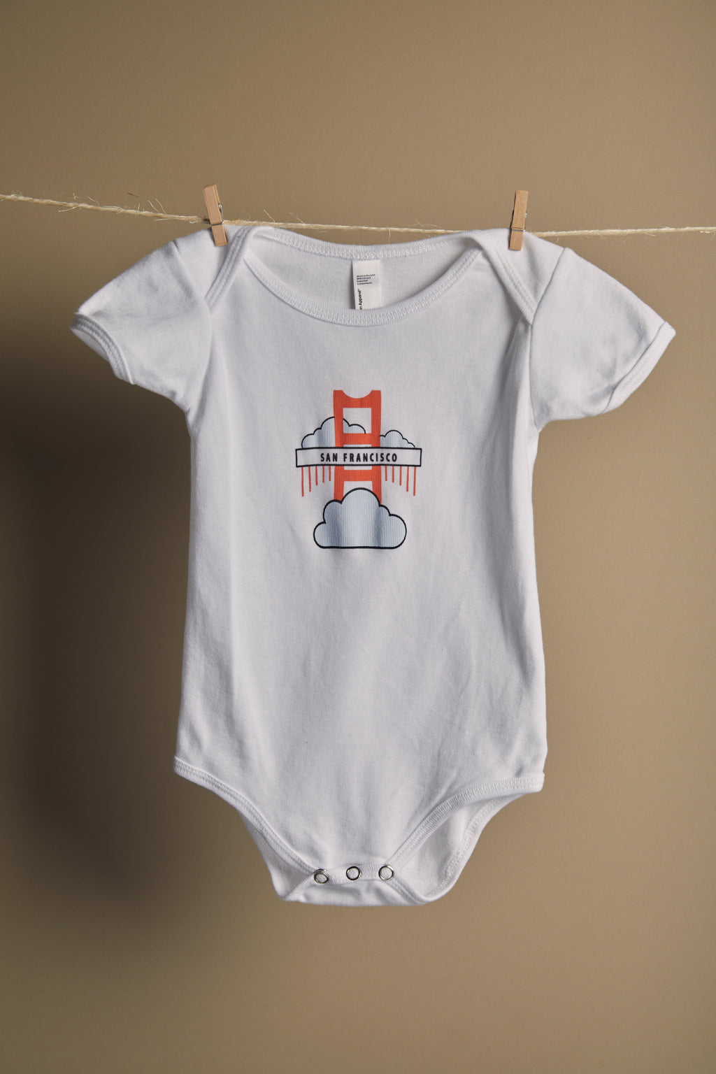 Golden Gate Bridge Onesie