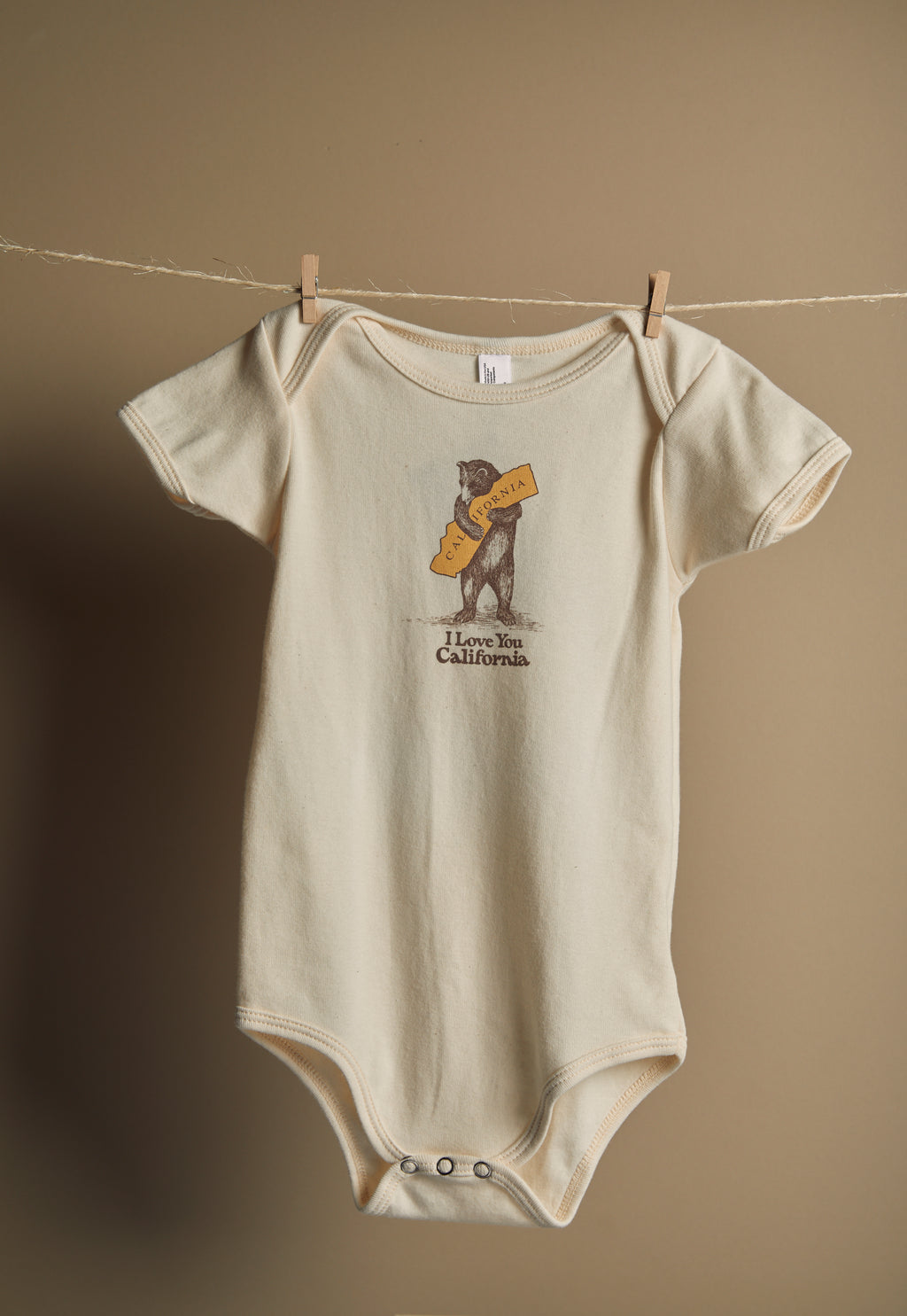 California Bear Hug Onesie - picnic-sf