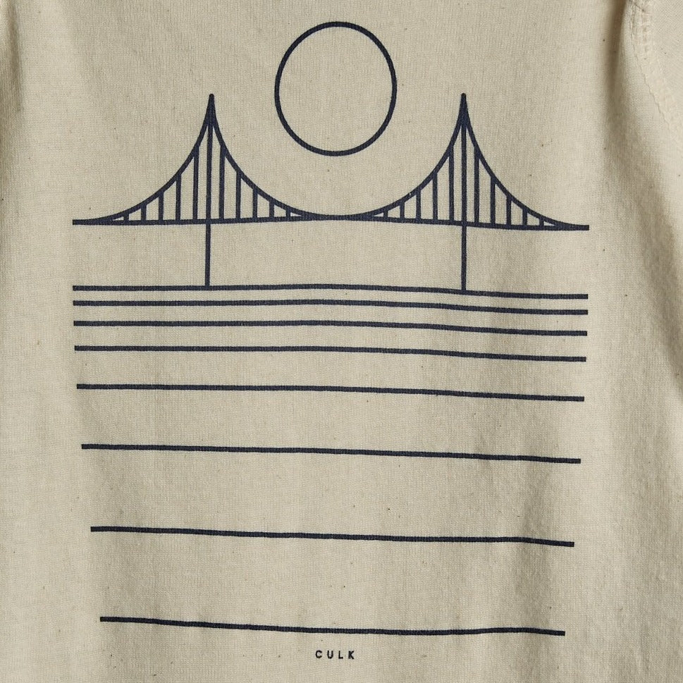 Minimal Bridge Onesie - picnic-sf