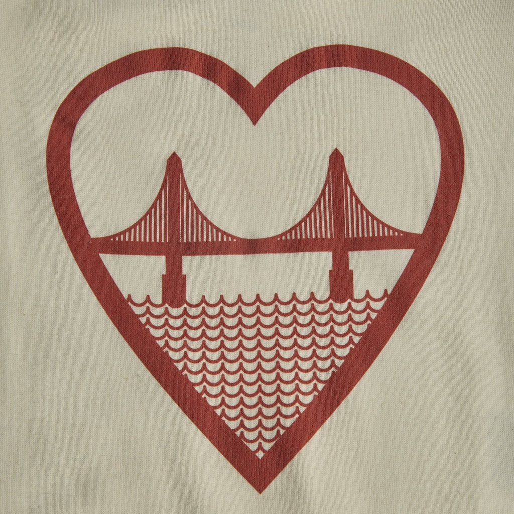 I Heart San Francisco Onesie - picnic-sf