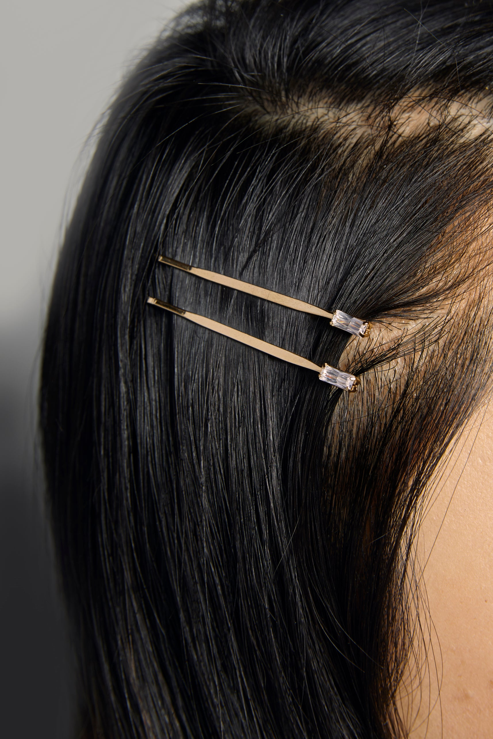 Square CZ Hair Bobby Pin Set - picnic-sf