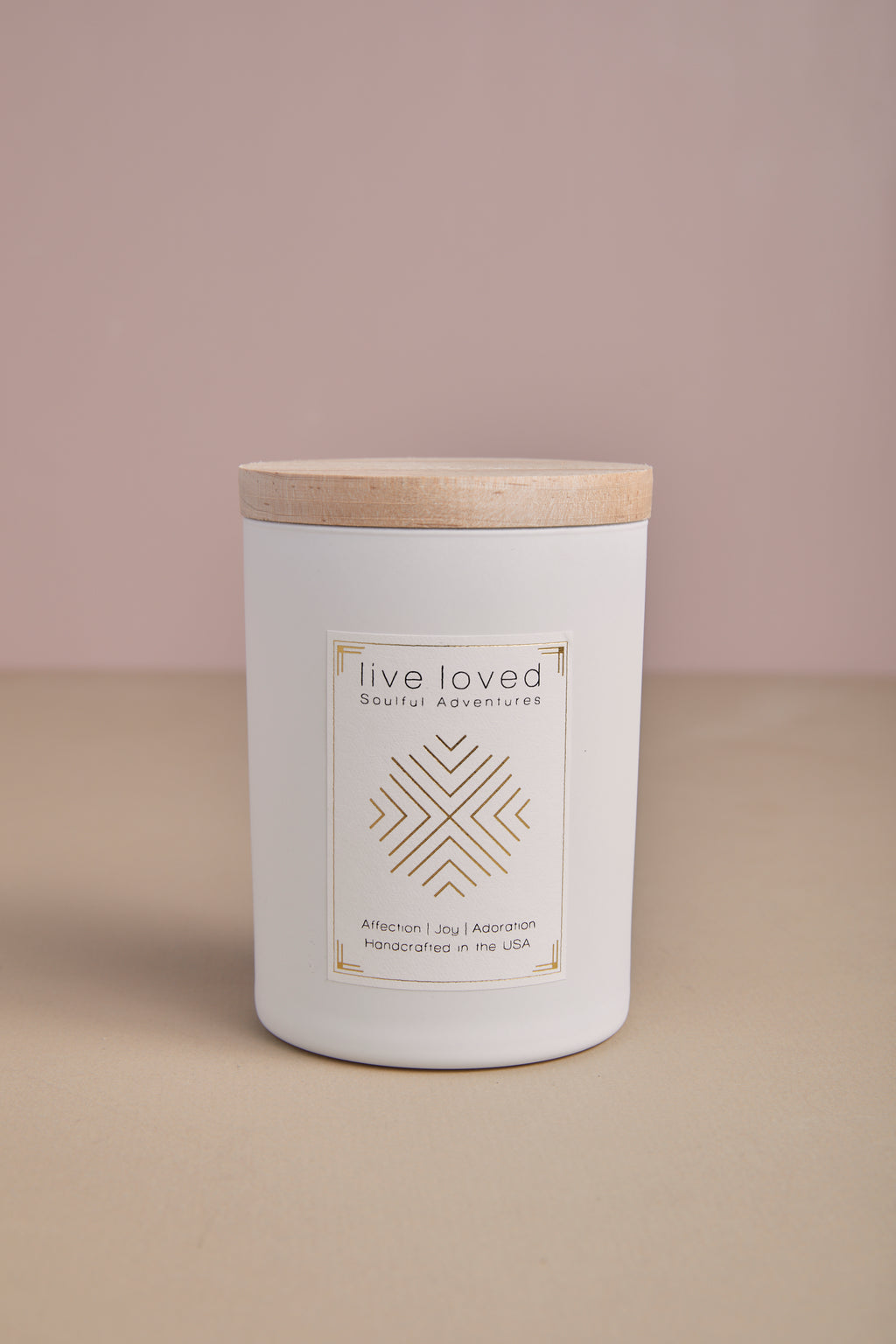 Live Love Candle