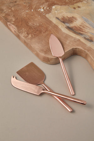 Copper Cheese Knife Set - picnic-sf