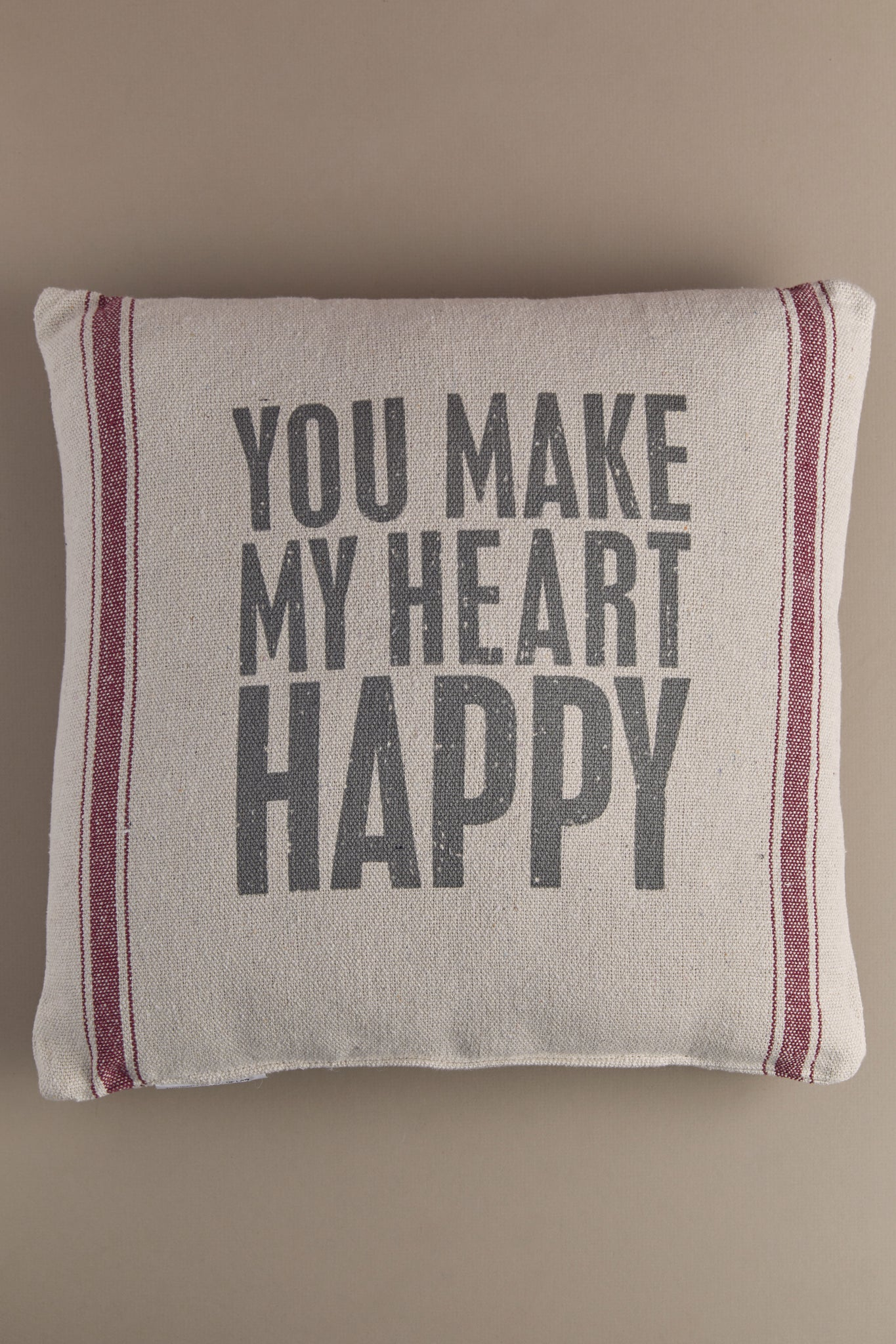 Make My Heart Happy Pillow