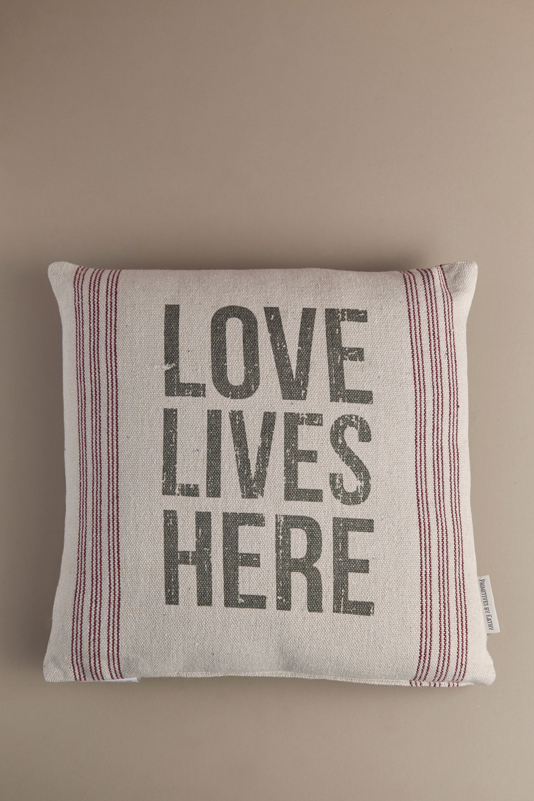 Love Lives Here Pillow - P I C N I C
