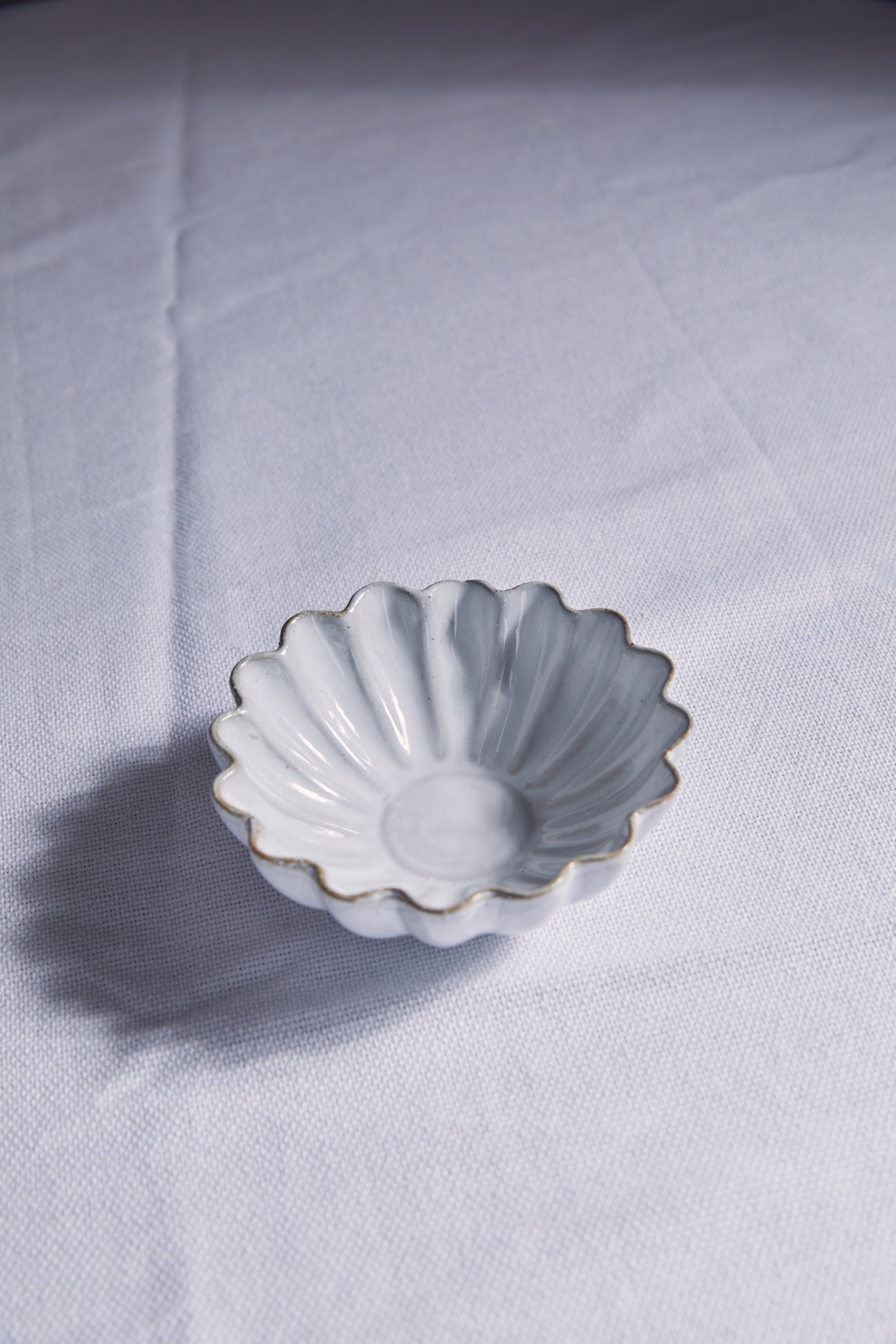 Terra-Cotta Fluted Bowl