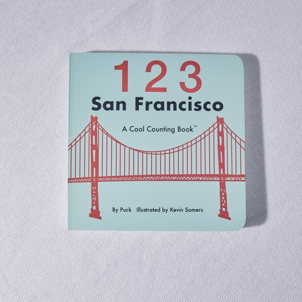 123 San Francisco Cool Counting Book - picnic-sf