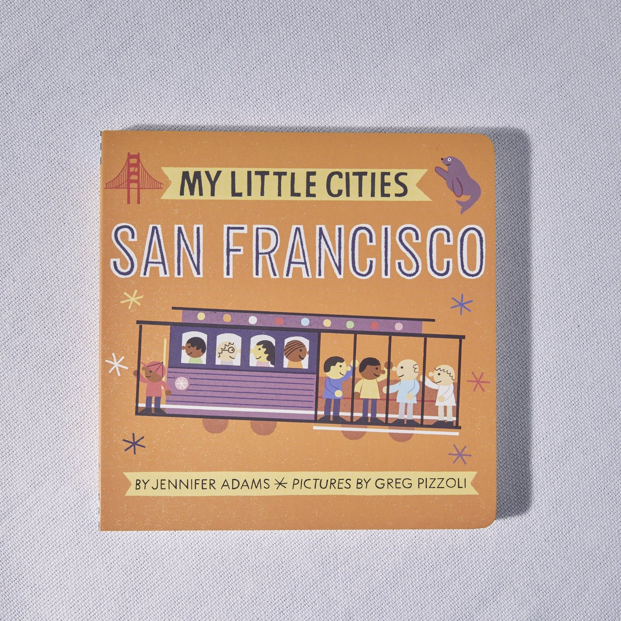My Little Cities San Francisco Book - P I C N I C