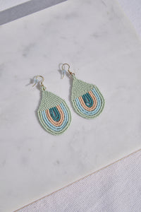 Sunset Seed Bead Earring - picnic-sf