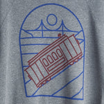 Cable Car Unisex Sweatshirt - picnic-sf