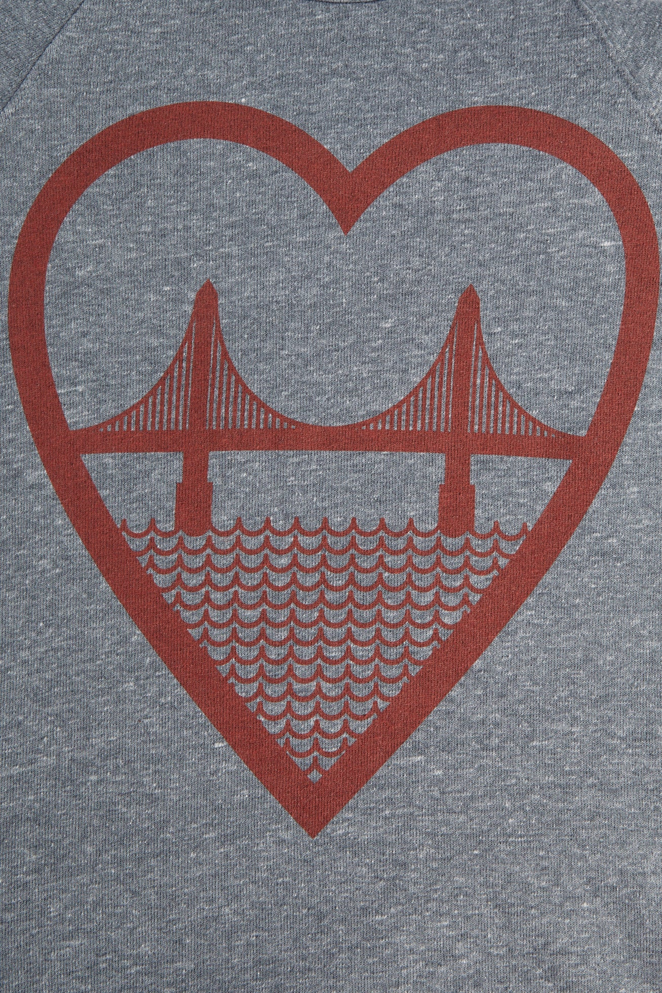 I Heart San Francisco Unisex Sweatshirt - picnic-sf