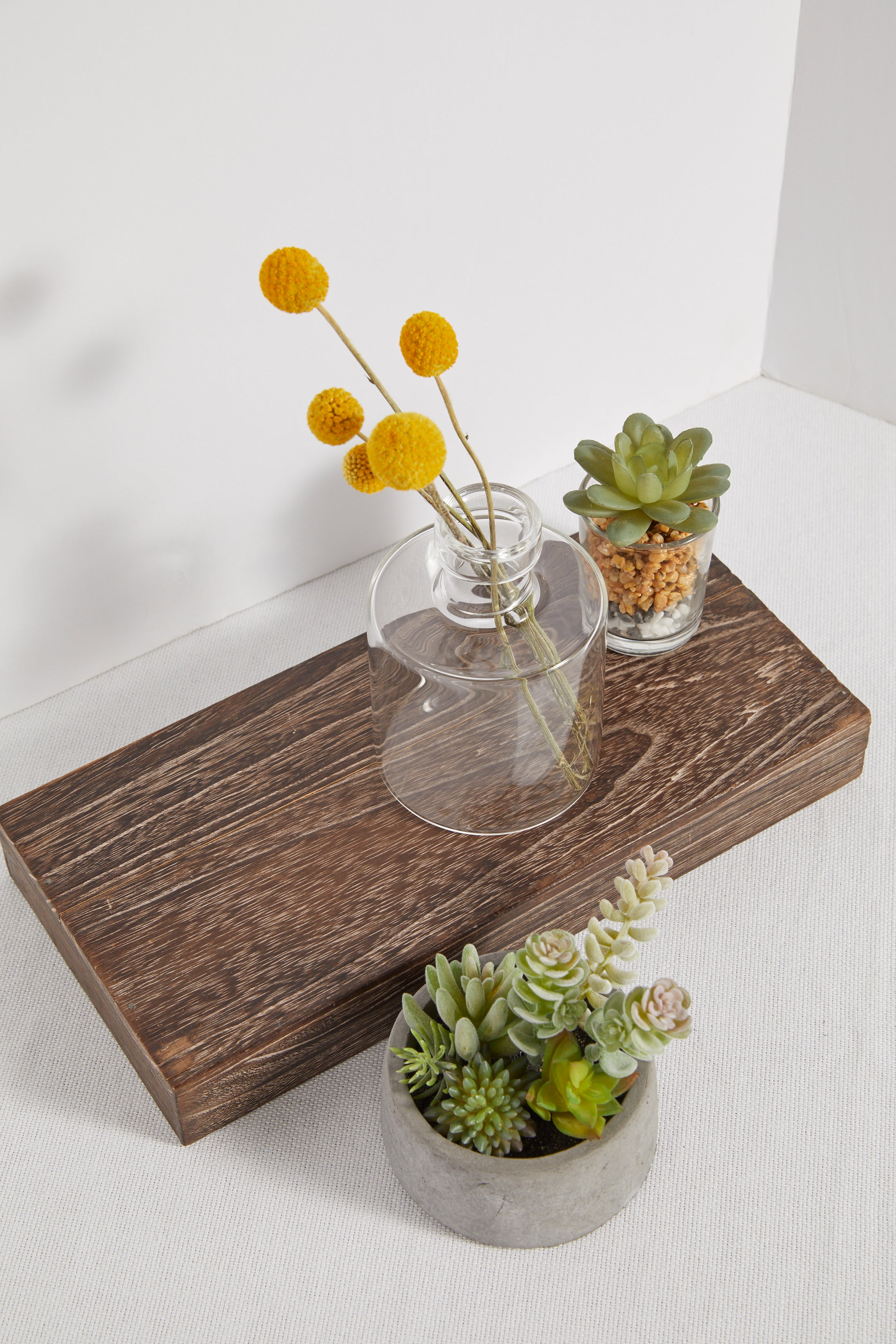 Faux Succulent Imitation Mini Glass - P I C N I C