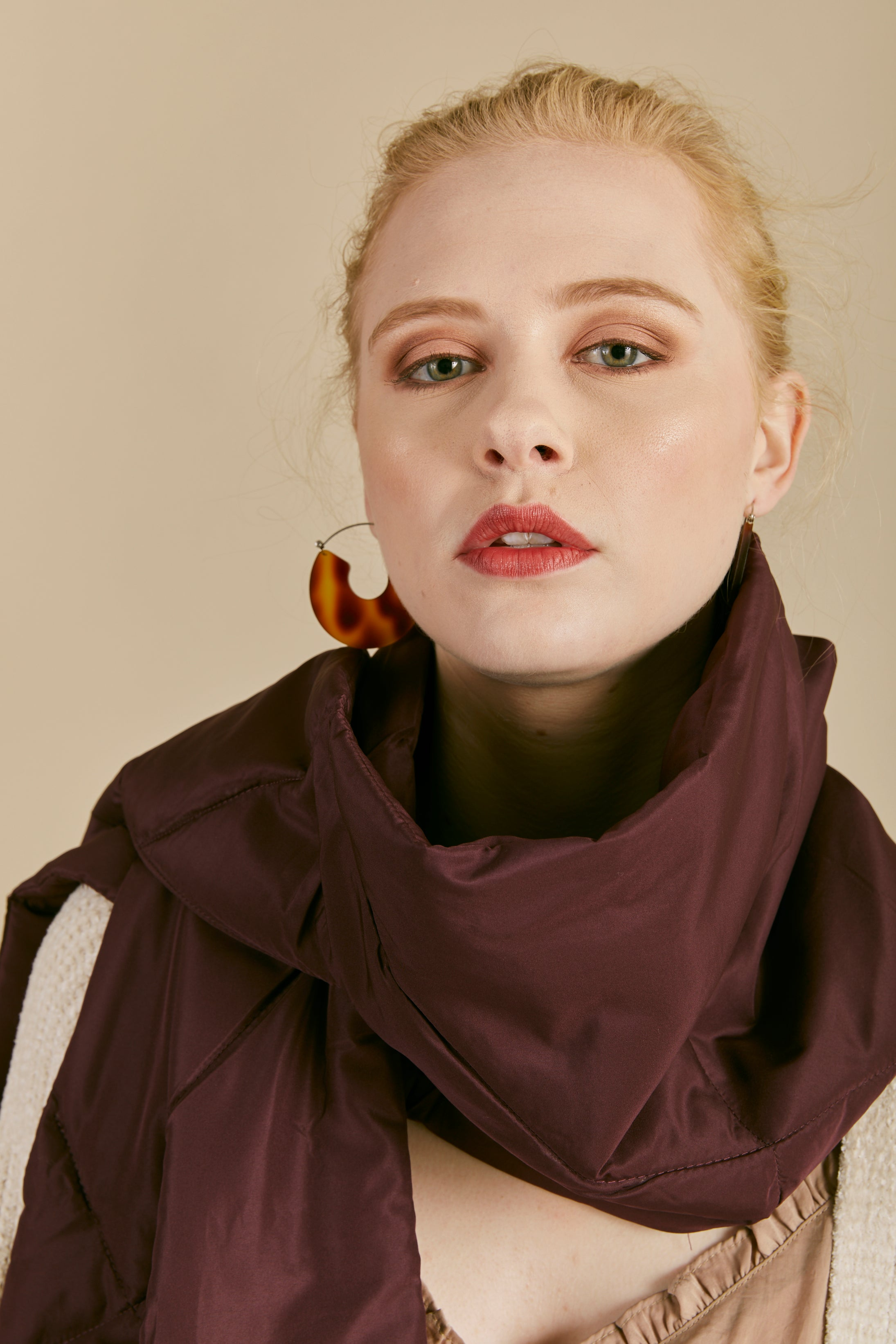 Puffer Quilted Scarf - P I C N I C