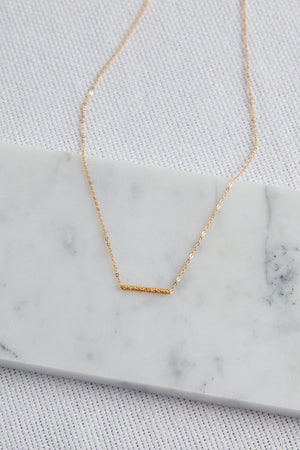Stardust Tube Bar Necklace - picnic-sf
