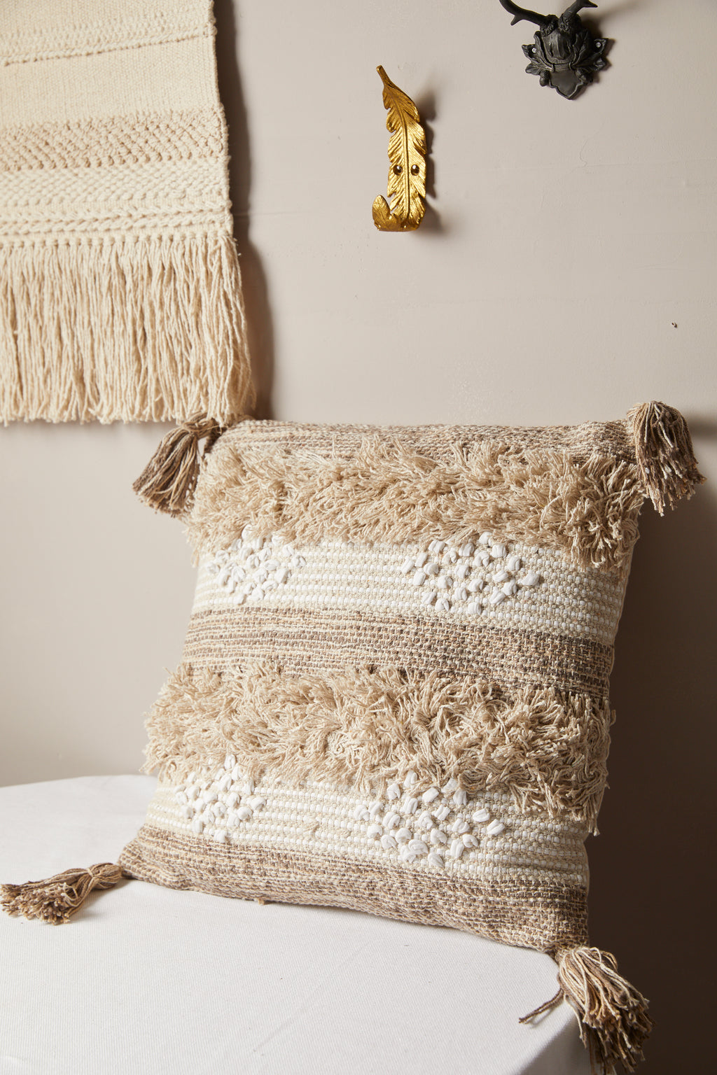 Berber Tassel Decorative Pillow - picnic-sf