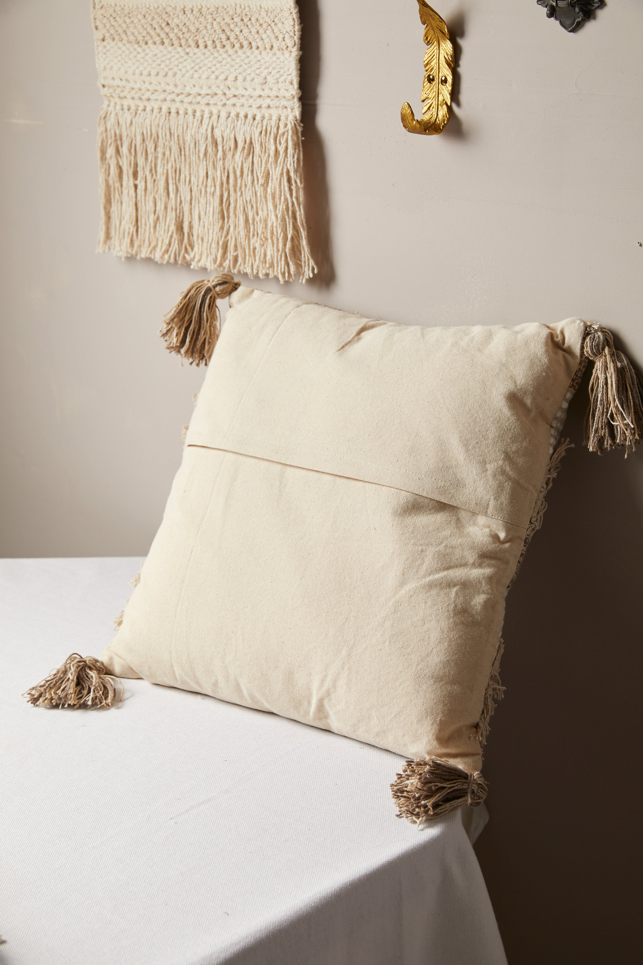 Berber Woven Decorative Pillow - picnic-sf