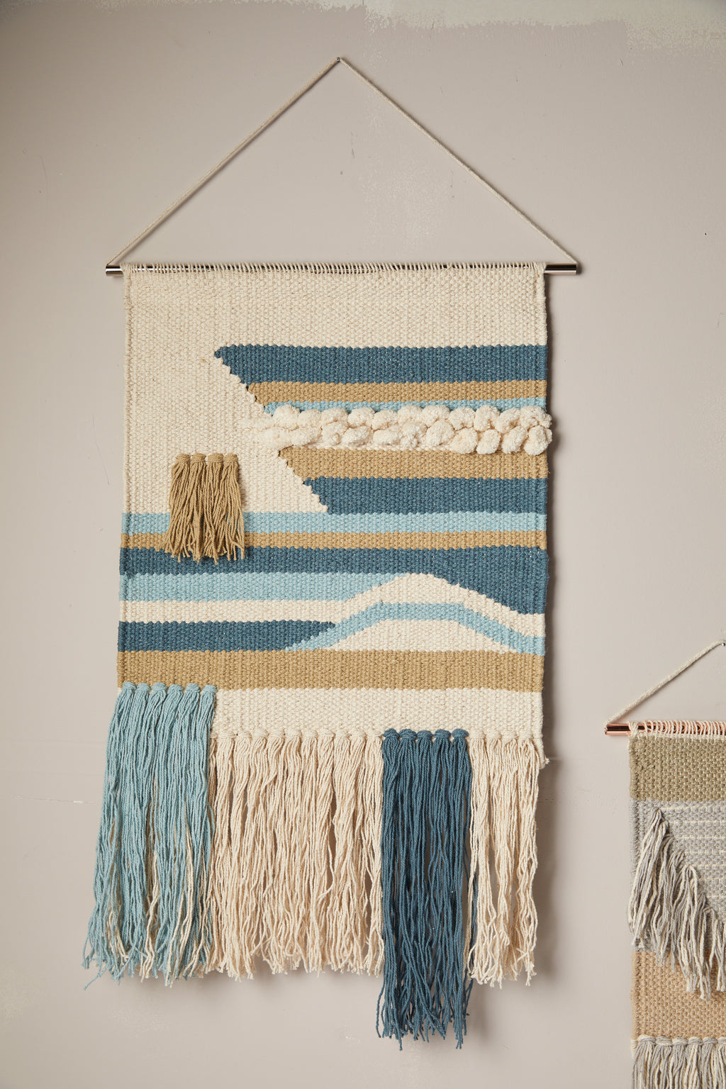 Everyday Seaside Woven Wall Hanging - picnic-sf
