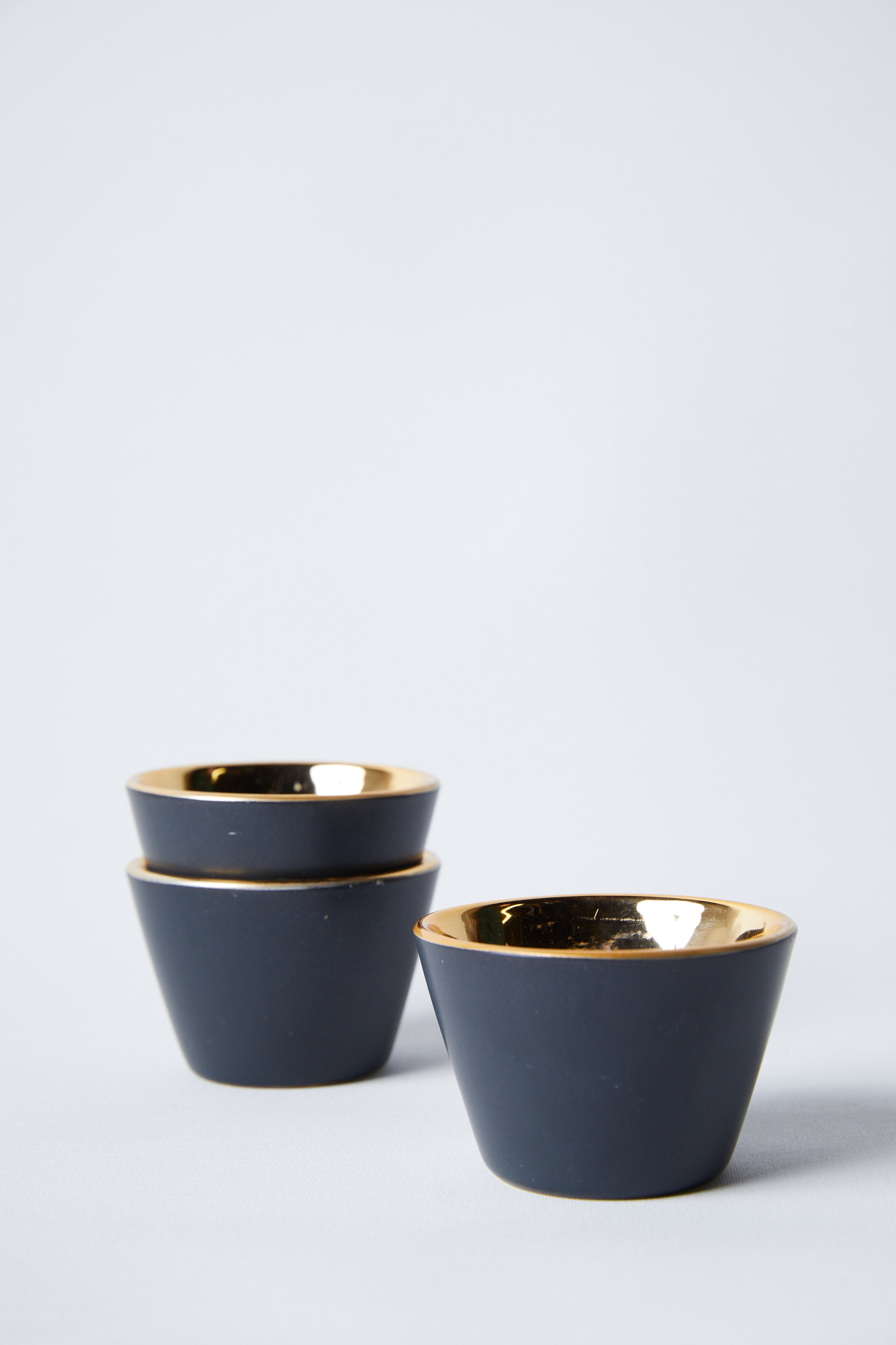 Black & Gold Raas Ceramic Votive Cup - picnic-sf