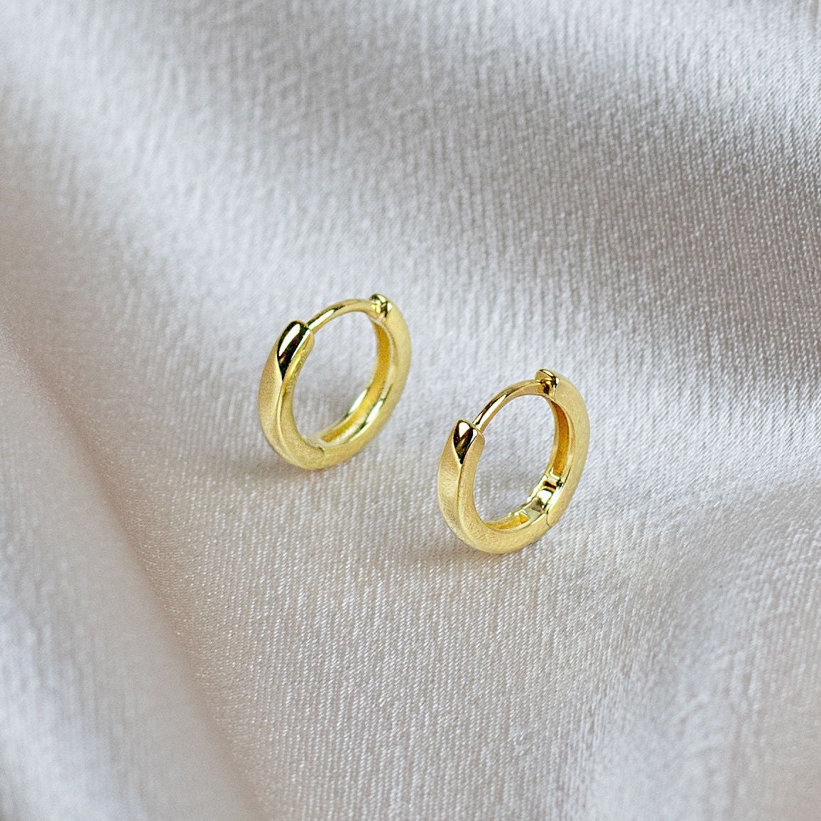 Small Hoops Earrings-Picnic-sf