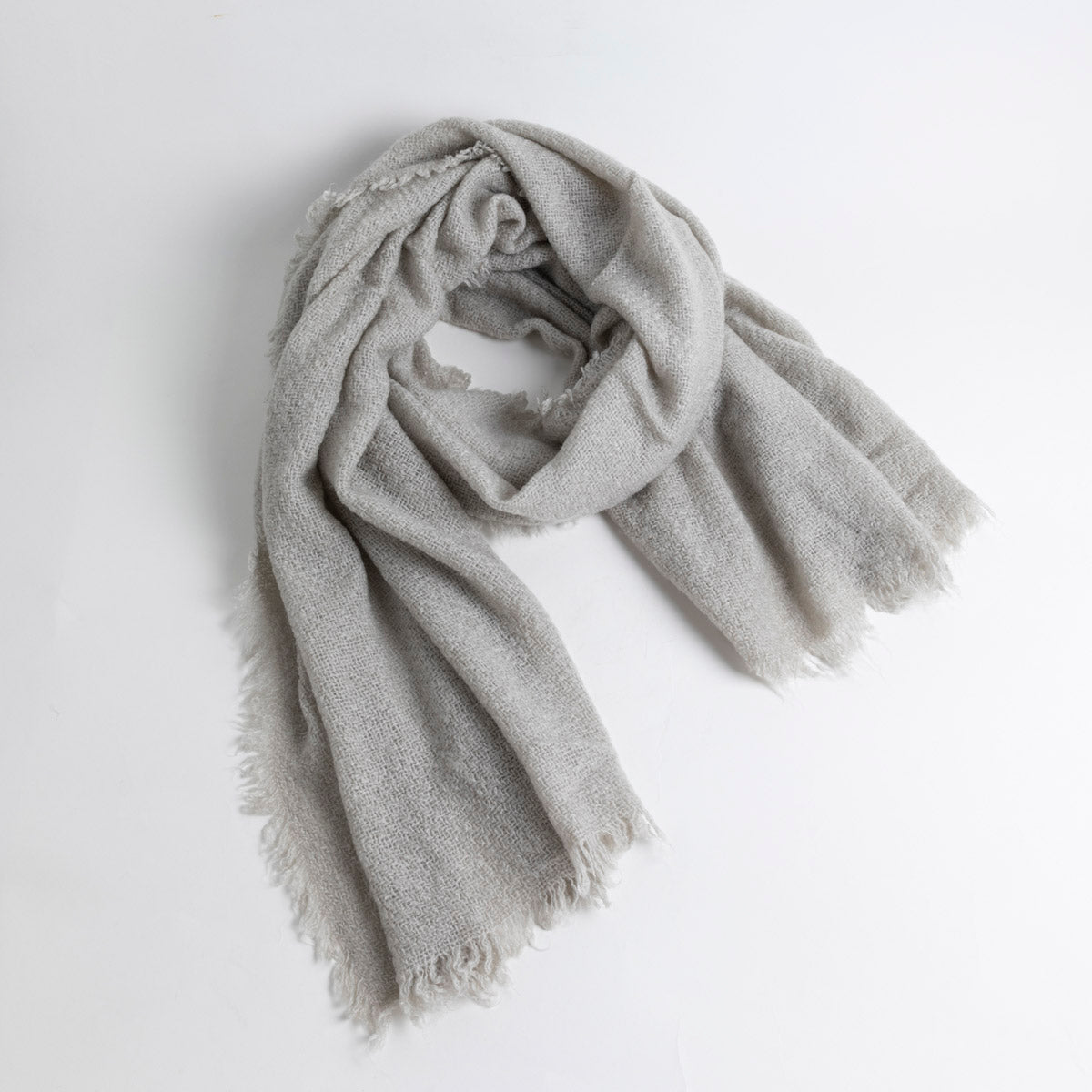 Raw Edged Scarf- Picnic SF