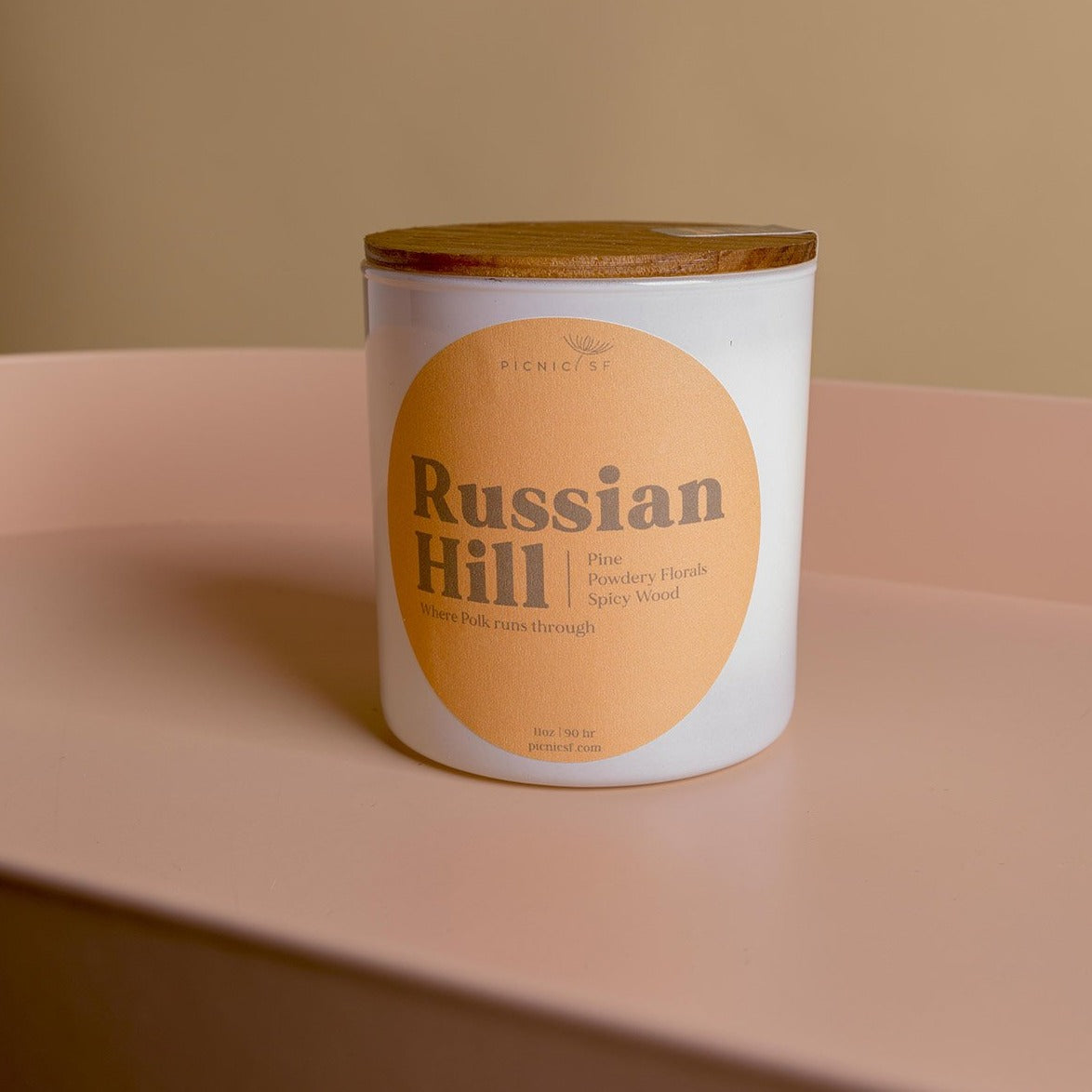 Russian Hill candle a Picnic exclusive San Francisco candle is available at Picnic SF