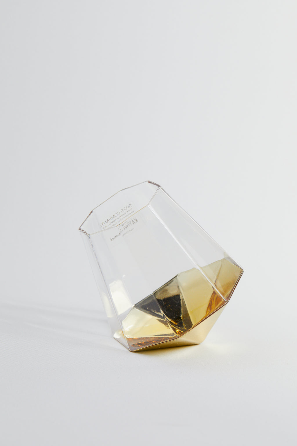 Diamond Stemless Wine Glass - picnic-sf