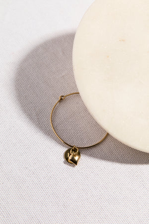 Virgo Heart Bangle - picnic-sf