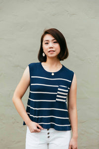 The Arley Knit Muscle Tank - picnic-sf