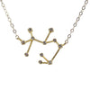 Sagittarius CZ Outline Necklace - picnic-sf