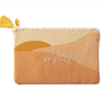 Be Still Canvas Pouch-Picnic-sf
