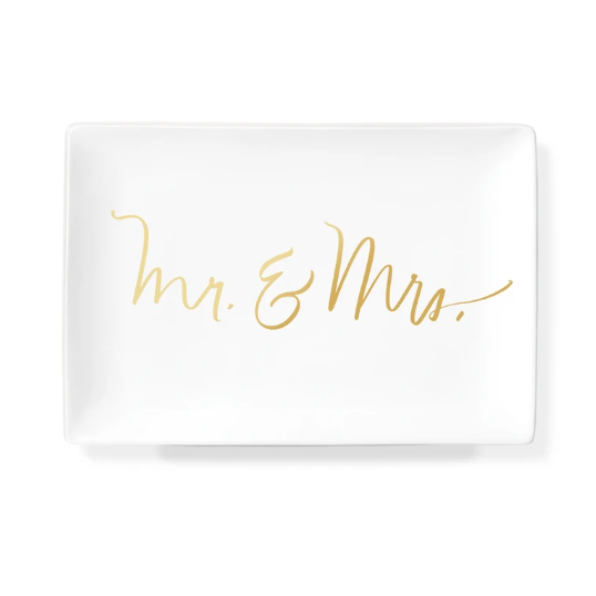 Mr. & Mrs. Rectangle Slab Tray-Picnic-sf