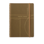 Olive Circle Grid Travel Journal -Picnic-sf