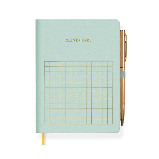 Clever Girl Journal with Slim Pen-Picnic-sf